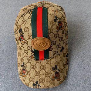 Gucci Mickey baseball cap